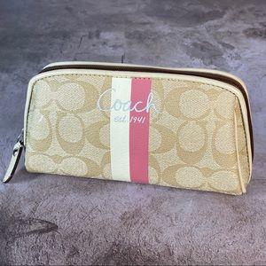 Coach Vinyl Makeup Bag